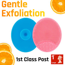 Gentle Facial Cleansing Silicone Brush Blackhead Cleaner Scrub *1st Postage**