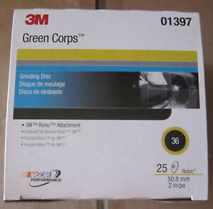 3M Green Corps Stikit Production Disc Dust Free 6 in 36 100 discs per carton 01668