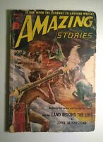 AMAZING STORIES MARCH 1952 SCIENCE FICTION PULP MAGAZINE GREAT CONDITION!