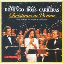 Plácido Domingo Christmas in Vienna (1993, & Diana Ross, José Carreras)  [CD]