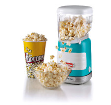 ARIETE POP CORN MACCHINA PER POPCORN 2956 AZZURRA POPPER PARTY TIME IDEA REGALO