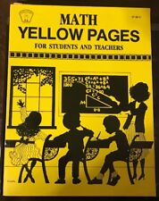 Math Yellow Pages For Students And Teacher