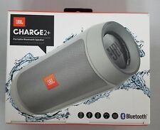 2 Plus Splashproof Portable Bluetooth Stereo Speaker Harman Gray+JBL Charge