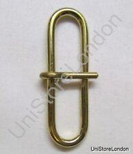 Buckle Sam Browne Brace Loop Buckle Gold for 45 mm Wide Belt R974