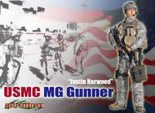 Dragon 70639 Cyber Hobby Justin Harwood USMC MG Gunner  1/6 Action Figure