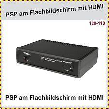 PSP am Flachbildschirm spielen, in bester Qualität und Full Screen, PSP Zubehör