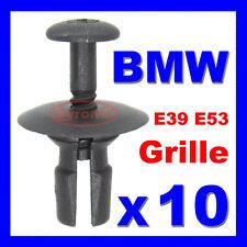 BMW E39 5 Série X5 E53 grille pare-choc avant gril clips expansion Rivet