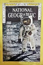 National Geographic First Explorers on the Moon, Dec 1969, V136, Attached Record
