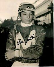STEVE CAUTHEN Signed Autographed TRIPLE CROWN HORSE JOCKEY Photo