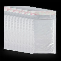 Wholesale 10Pcs Poly Bubble Mailers Padded Envelopes Shipping Bags Self Seal New