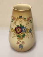 "S.F & Co. Crown Devon Fieldings ""Rhyl"" Pattern Vase Blush Ware c1914"