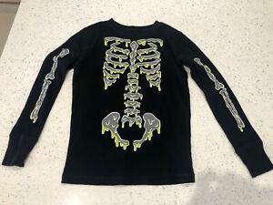 GAP Kids Black Skeleton Pyjamas (glow In the dark). Age 8 Yrs