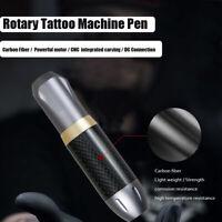 Dragonhawk Rotary Tattoo Machine Pen Liner & Shader DC Connection Carbon Fiber