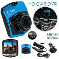 HD 1080P Car DVR Camera Video Recorder G Sensor Night Vision Dash Cam Blue 170°