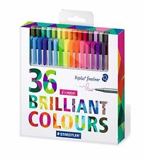 Staedtler Triplus Fineliner Pens 36 Colors Set 0.3mm (334 C36)