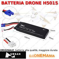 BATTERIA H501S HUBSAN nuova, ORIGINALE, alta autonomia e qualità lunga durata