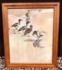 Vintage Antique Wildlife Vernon Ward English Listed Artist 1905-85 Print Framed