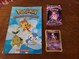 Pokemon Mewtwo Mayhem Evolutions Theme Deck 2016 Plus Sinnoh Handbook