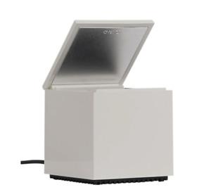 CINI & NILS Cuboluce CUBE Lamp WHITE $395 MOMA 1972 Mid Century Design ITALY
