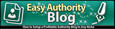 How To Set Up a Profitable Authority Blog In Any Niche- Videos on 1 CD