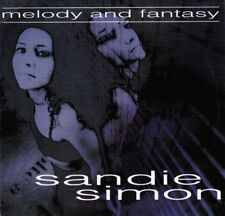 Sandie Simon-Melody And Fantasy Cd Promo 1999 Cardsleeve Still Sealed  3 Tracks