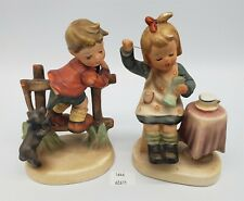 Thriftchi ~ Napco Ceramic Figurines Pant-ing AHIJ & Sewing Time C8749