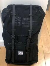 Herschel Little America Mens & Womens Backpack Rucksack - BLACK LETTER