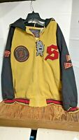 Vintage Men's Snoop Dogg Athletics XL Wool Jacket New With Tags