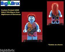 SALLY Nightmare Before Christmas Custom LEGO Minifigure NO DECALS USED!