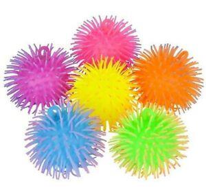 "5"" TWO TONE PUFFER BALL Tactile Fidget Sensory Toy - 1 Random Color Per Order"