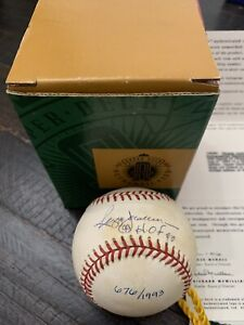 Reggie Jackson Autographed Baseball 676 of 1,993 Upper Deck Authenticated HOF