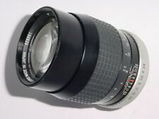 HOYA 135mm F/2.8 Tele Auto HMC M42 Screw Mount Manual Focus Lens ** mint