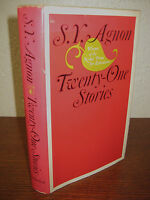 1st Edition Twenty One Stories S.Y. Agnon Nobel Prize 2nd Printing Fiction