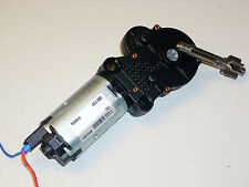 12 Volt Nidec  Motor mit Winkelgetriebe