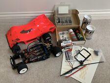 RC Car LOT Chassis Frame Parts Body Novak GTB Ballistic Spektrum Protoform