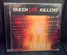 QUEEN LIVE KILLERS 2 CD (EMI/MONDADORI) RARE STAMPE ITALY