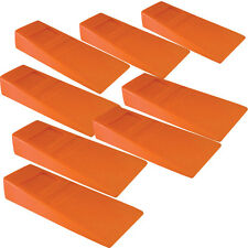 """8 - Felling Bucking 8"""" Wedges High Impact ABS Plastic Falling wedge Made in USA"""