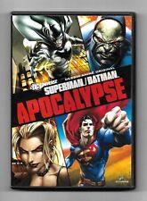 DVD / SUPERMAN BATMAN - APOCALYPSE / DC MARVEL COMME NEUF