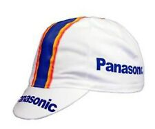 Brand new Panasonic  Cycling cap, Italian made Retro