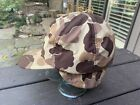 Vintage Duck Hunting Camo Hat w Ear Flaps USA Made Sz L EXCELLENT