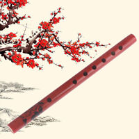 Traditional 6-Hole Bamboo Flute Clarinet Student Musical Instruments Wood Co Pg