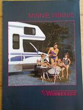 Winnebago Minnie Winnie Motorhome range brochure c1995 German text + price list