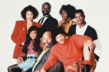 FRESH PRINCE OF BEL-AIR 24X36 POSTER WILL SMITH CAST