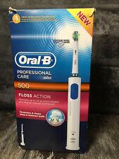 Braun Oral-B 500 Professional Care FLOSS ACTION CEPILLO DE DIENTES ELÉCTRICO probado worki