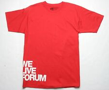Forum We Live  Short Sleeve Tee (S) Young Blood