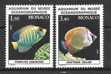 Monaco 1986 Yvert n°1541 et 1542 neuf ** 1er choix