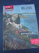 vie du rail 1962 849 BLOIS LOIR ET CHER Chocolat Poulain CELETTES CLéRY NEUNG