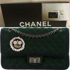 NWT CHANEL 15A SALZBURG WOOL QUILT REISSUE 2.55 FLAP CC 2WAY BAG HANDBAG CHAIN
