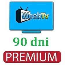 Weeb | wysyłka | express | tv | 90 | dni | premium | kod | online