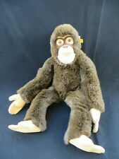 Large Steiff Jocko Stuff Chimpanzee Mohair Monkey Germany 0620 50 CM 19.5""